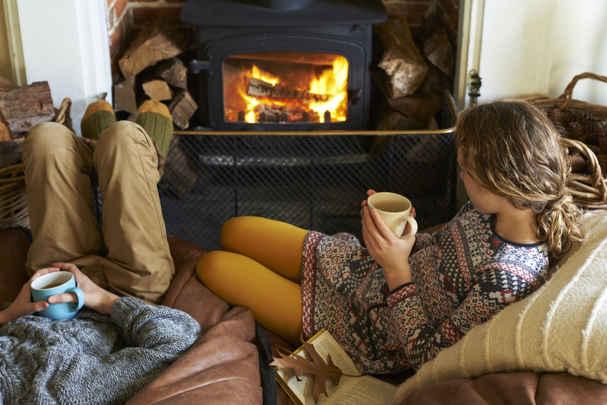ways to keep warm without turning up the heat