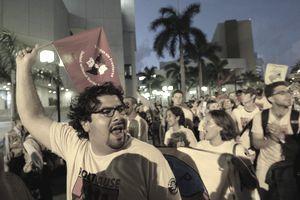 FTAA protest
