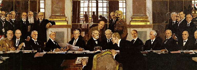 The Signing of the Treaty of Versailles by Orpen