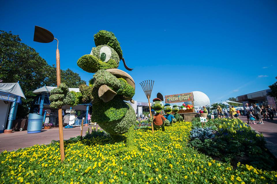 2017 Epcot International Flower & Garden Festival
