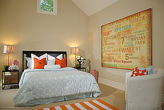 Your Organic Bedroom: Color Compliments In Your Bedroom Schemes