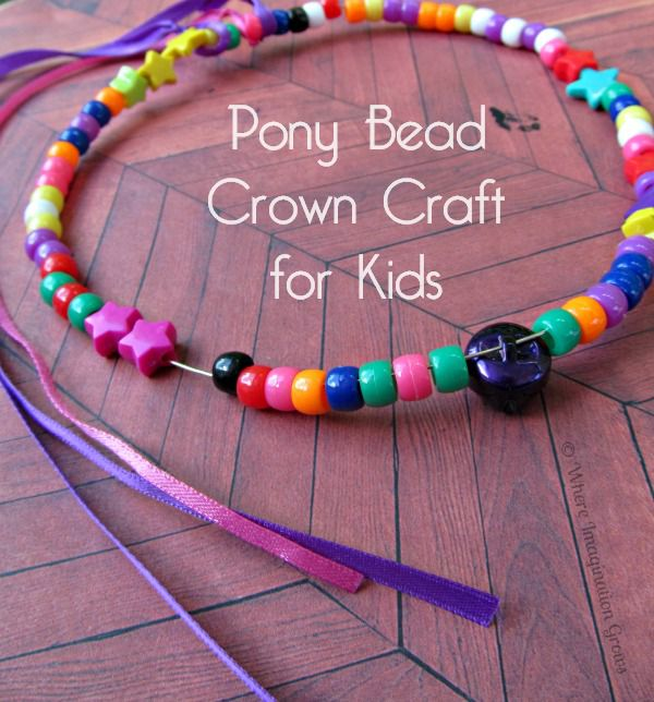 Kid Craft Beads: 16 Adorable Kids' Crafts For Girls