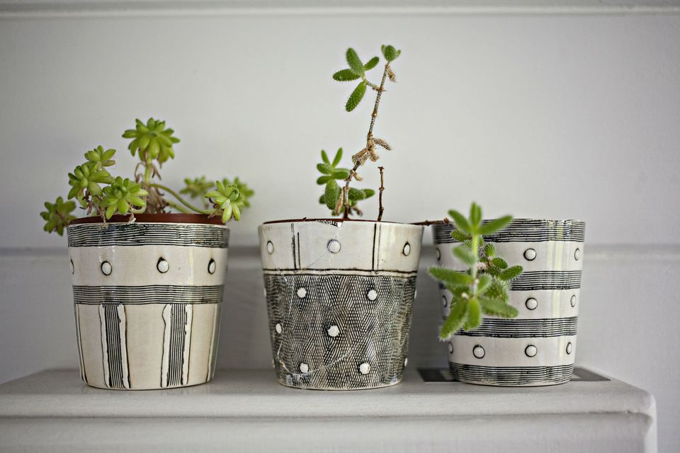 Garden Pot Plants Rubber pot feet for container gardens potted plants on table at home workwithnaturefo