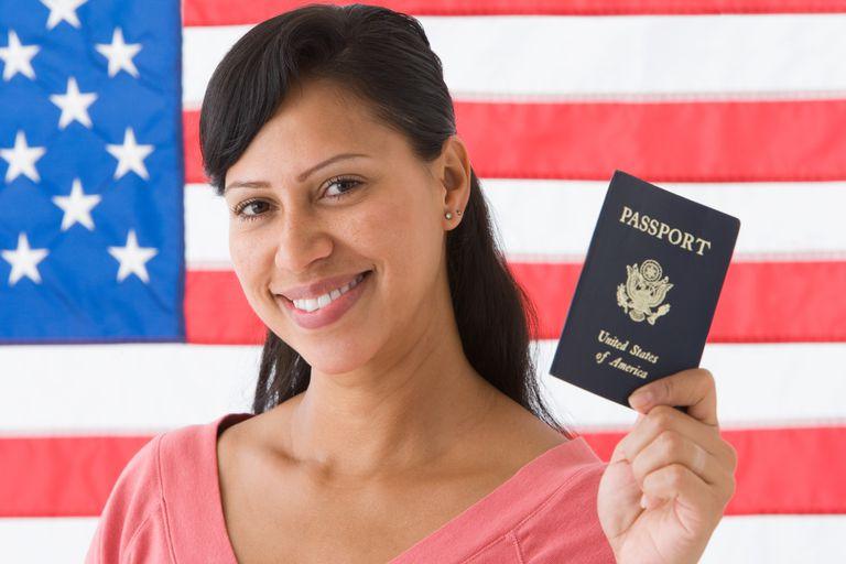 El pasaporte americano no tiene que darse en exclusividad