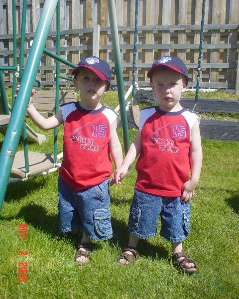 Owen and Evan Thorpe.