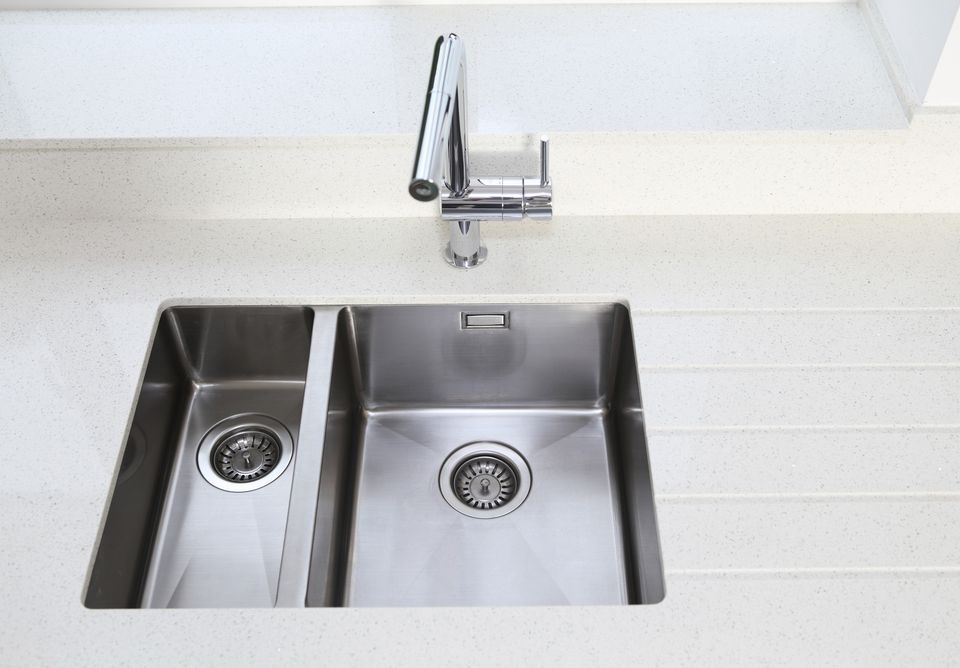 Caulking Kitchen Sink Undermount sink installation reapply caulking undermount stainless steel kitchen sink and tile counter workwithnaturefo