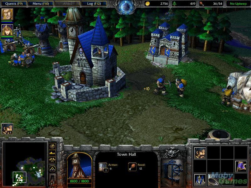 warcraft iii reign of chaos pc cheats codes