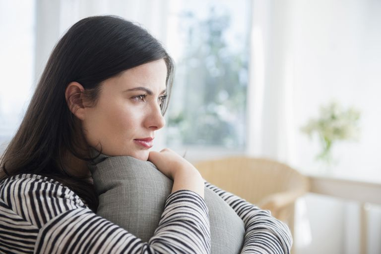 woman after a miscarriage