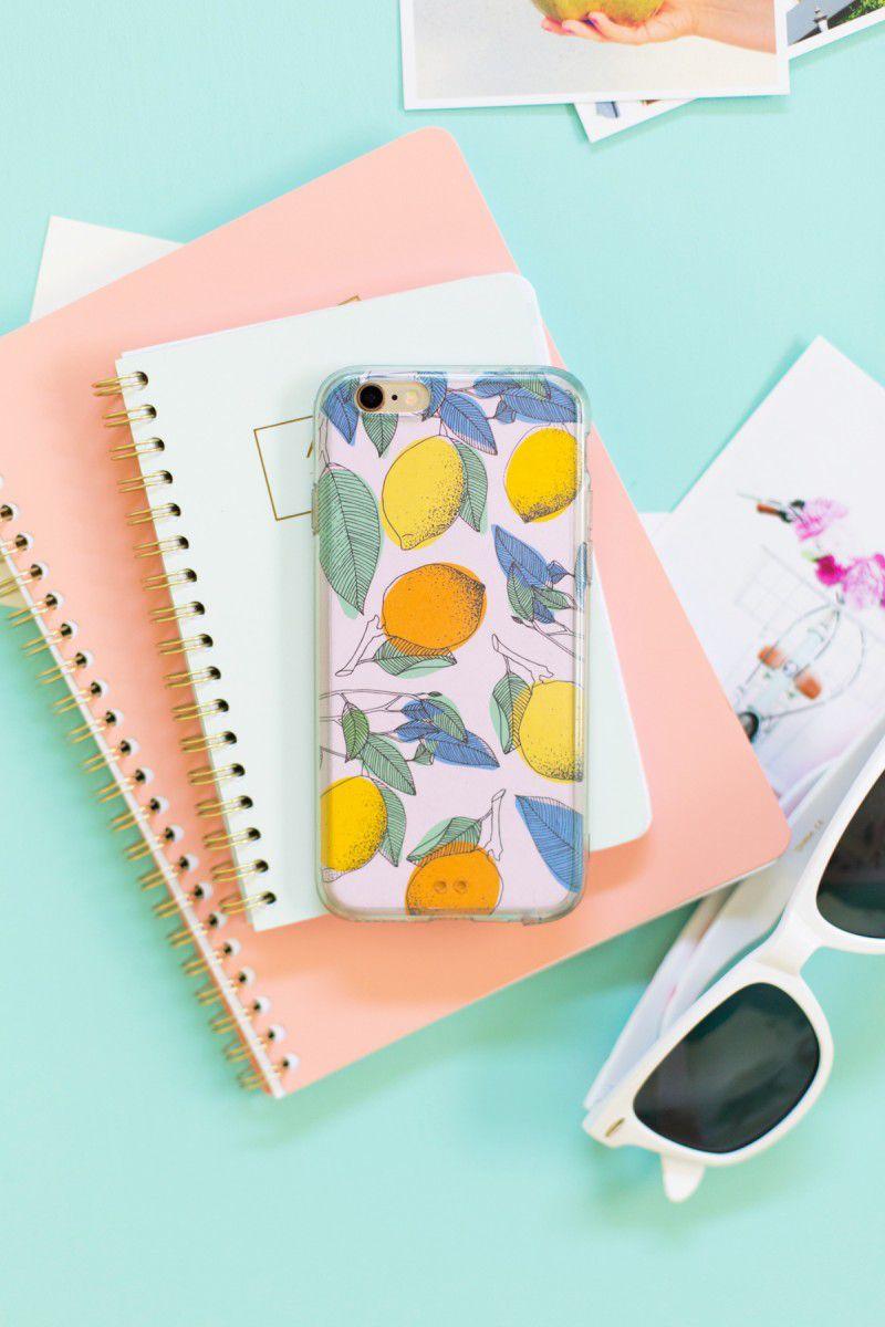 Printable DIY Phone Cases