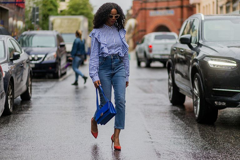 Summer street style in jeans