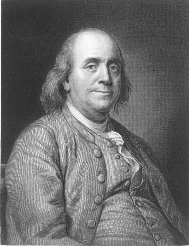 "Benjamin Franklin ""Life of Benjamin Franklin as written by himself,"" edited by John Bigelow, 1875"