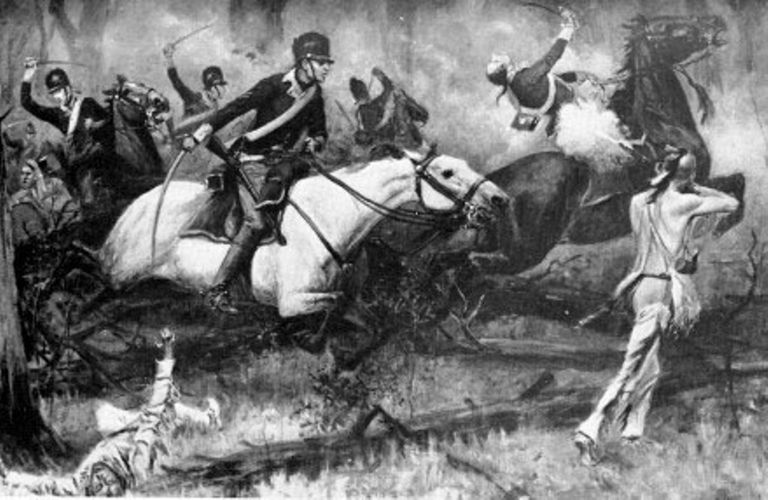 Fighting at Fallen Timbers