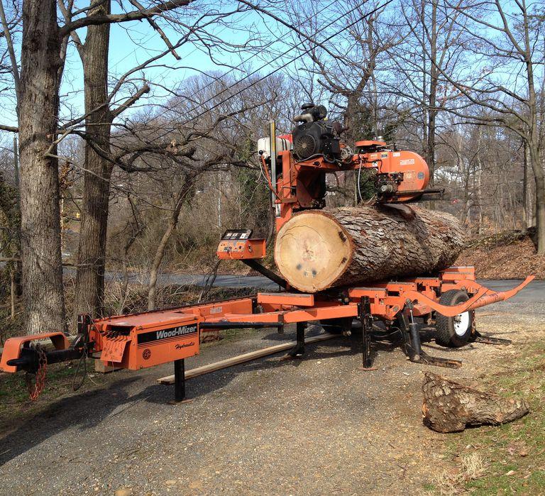4399 00 2016 Portable Sawmill Oscar 328 Bandmill Band Mill Saw Lumber Maker Hudsonforestequipment