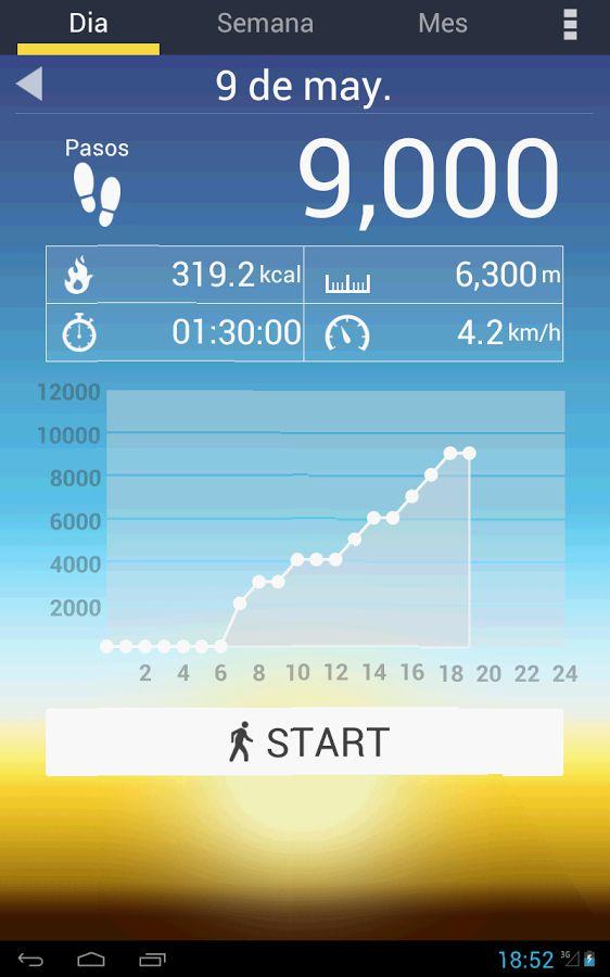 podometro apps para salud del corazón