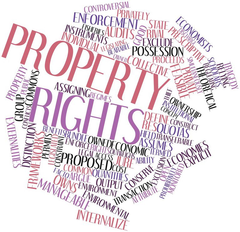 real estate property rights terms