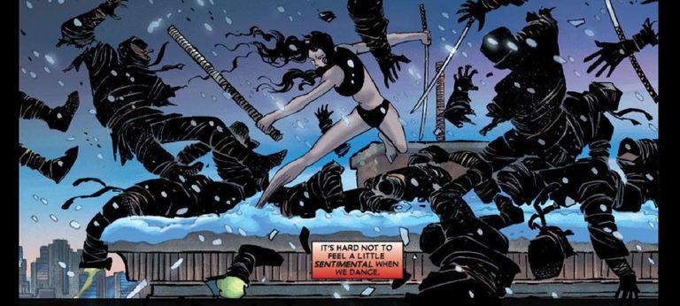 Elektra by John Romita Jr, Klaus Janson, and Paul Mounts