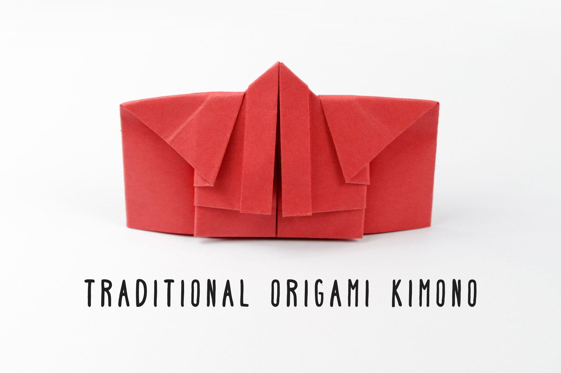 Traditional origami kimono instructions jeuxipadfo Gallery