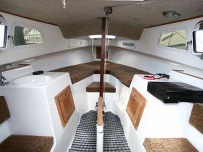 Potter 19 Sailboat Interior