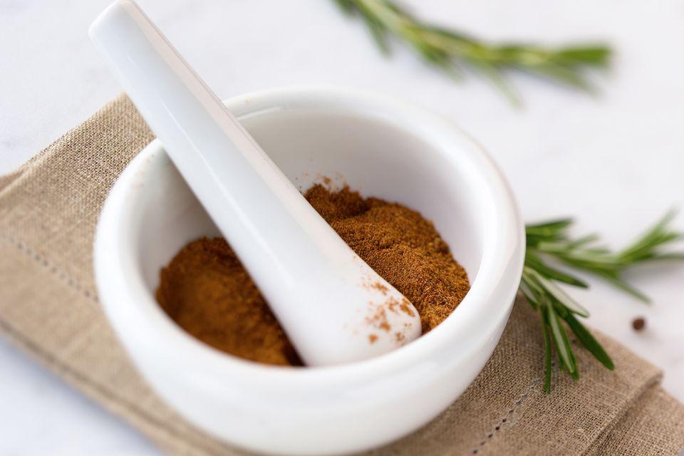 Spice rib rub