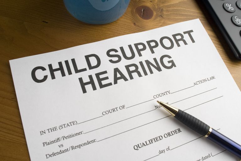 child support hearing paperwork