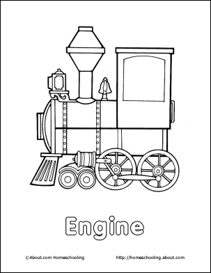 trains coloring book beverly hernandez - Train Coloring Book