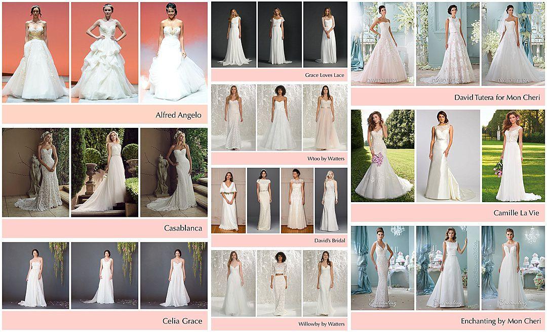 Affordable Wedding Dress Designers Under 2 000
