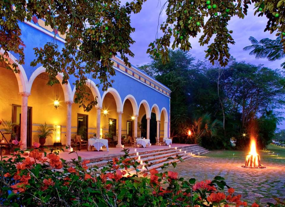 The real Mexico, at Hacienda Santa Rosa hotel in Yucatan