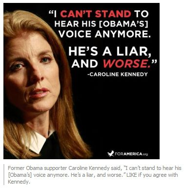 Caroline Kennedy on Barack Obama