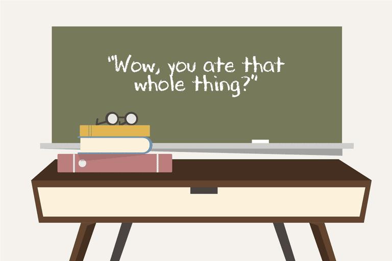 Illustration of a chalkboard