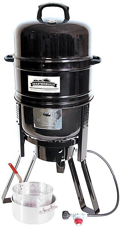 Masterbuilt 7 in 1 Smoker and Grill