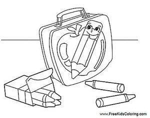 free kids coloring back to school coloring pages - Free Kids Coloring Pages