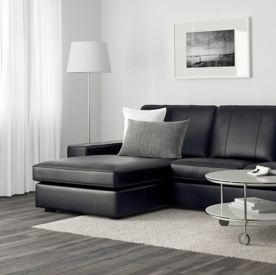 IKEA Kivik sofa in leather