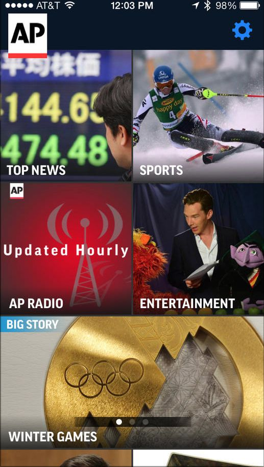 AP Mobile news app
