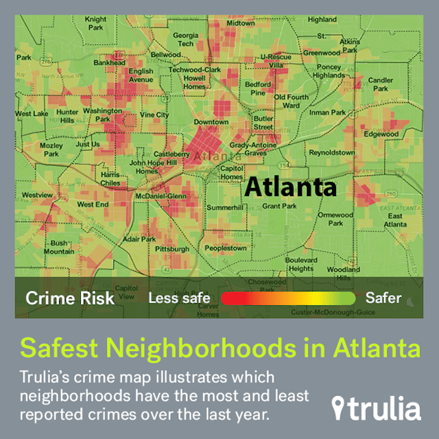 An Overview Of Atlanta Crime By Neighborhood