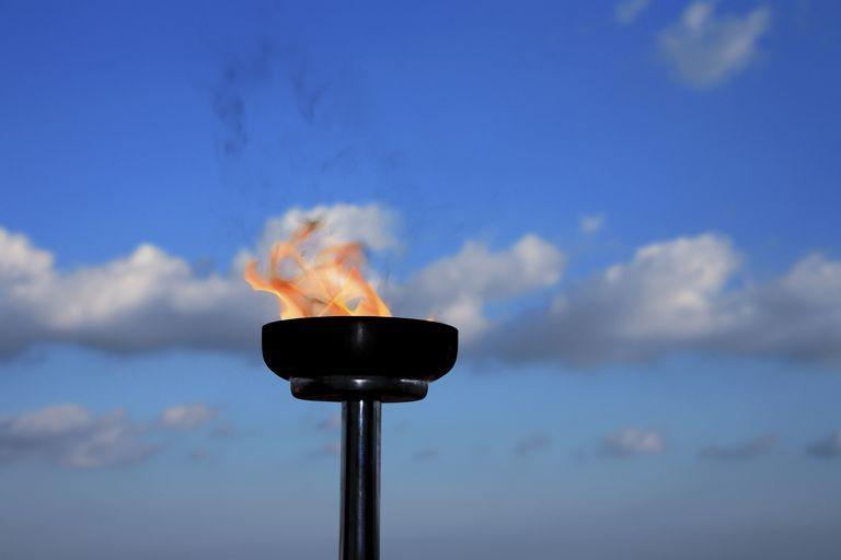 glory burning torch