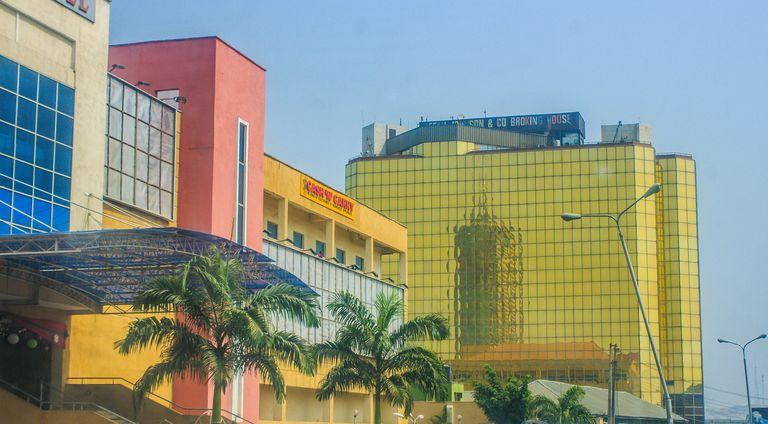 Business district of Ibadan, Nigeria