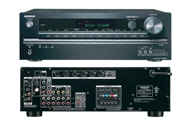 Onkyo TX-SR333 5.1Channel Home Theater Receiver