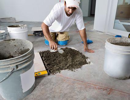 Laying Ceramic Tile On Wood Floor