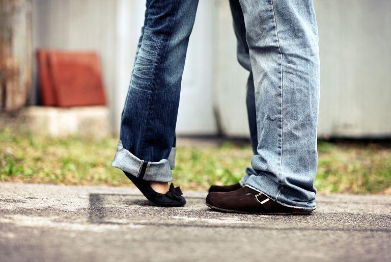 Diferencia de altura en la pareja
