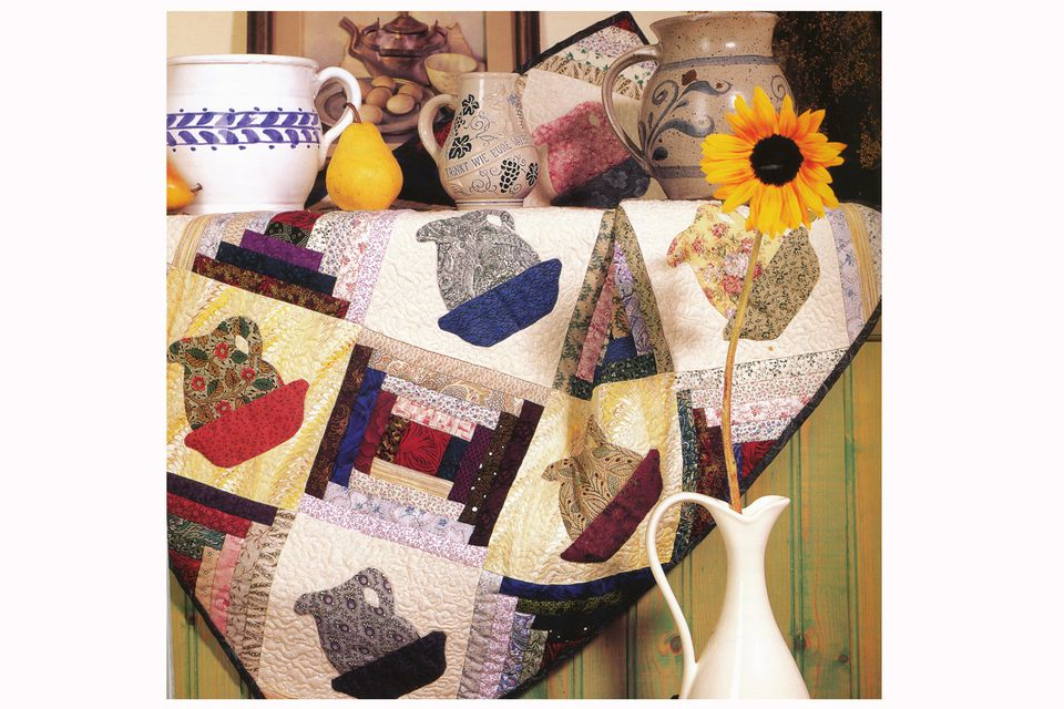 Pitchers and Bowl Quilt Pattern