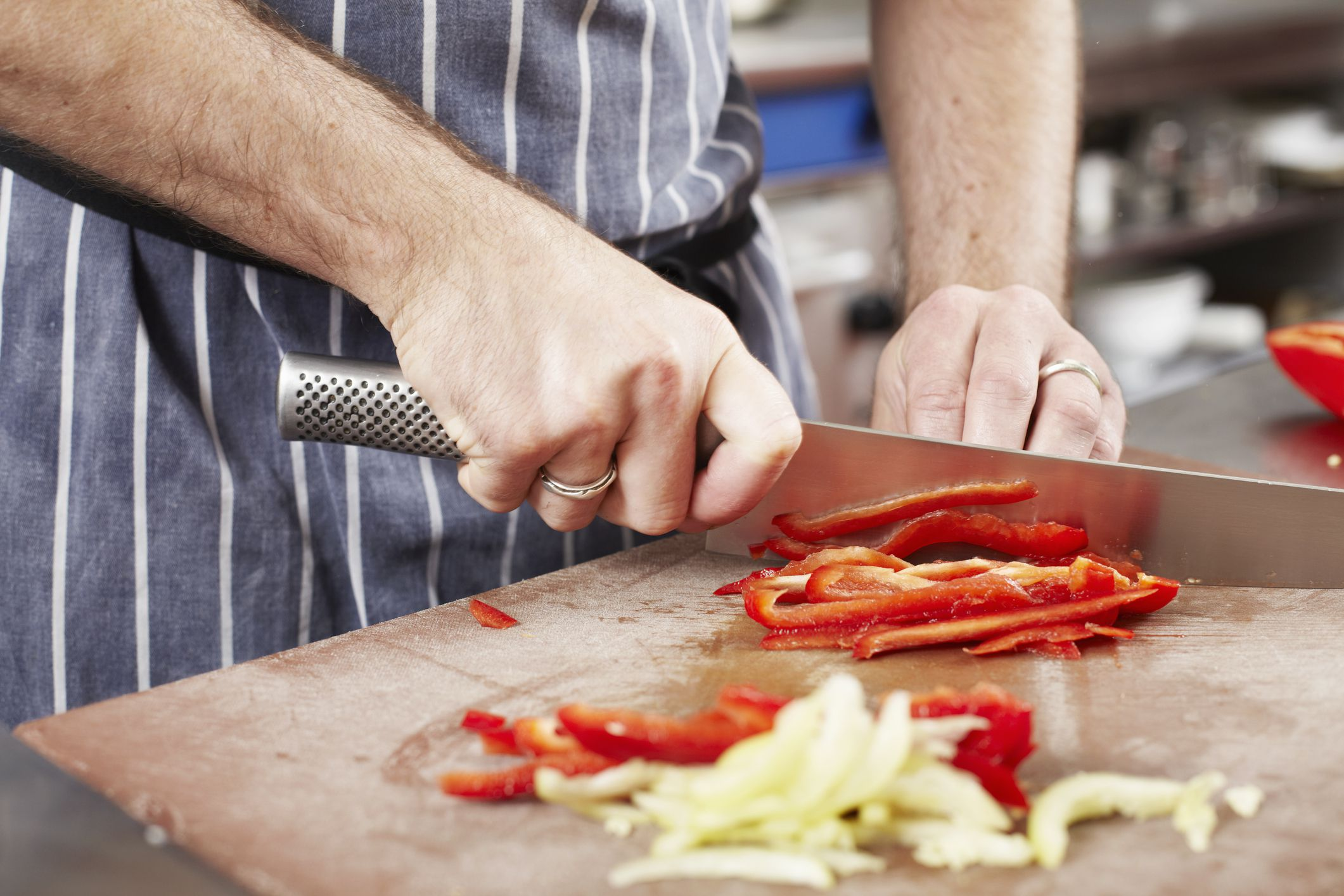 Fine Brunoise: Basic Knife Cuts - Photo Examples