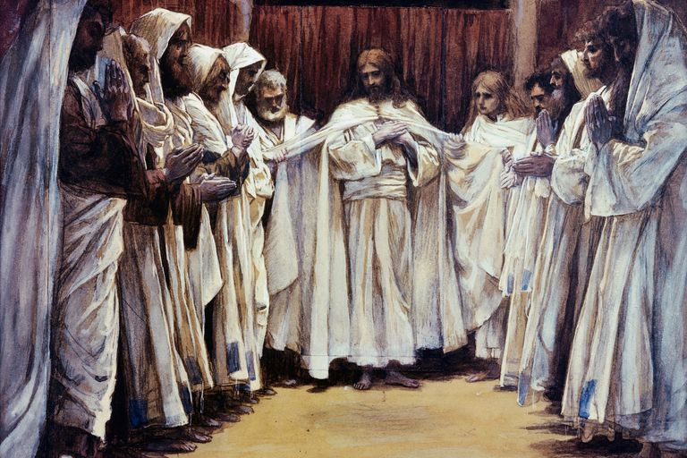 The Last Discourse of Our Lord Jesus Christ by James Tissot