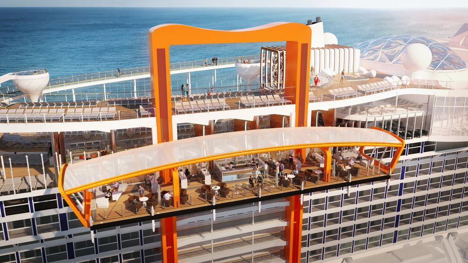 Celebrity Edge Cruise Ship Magic Carpet