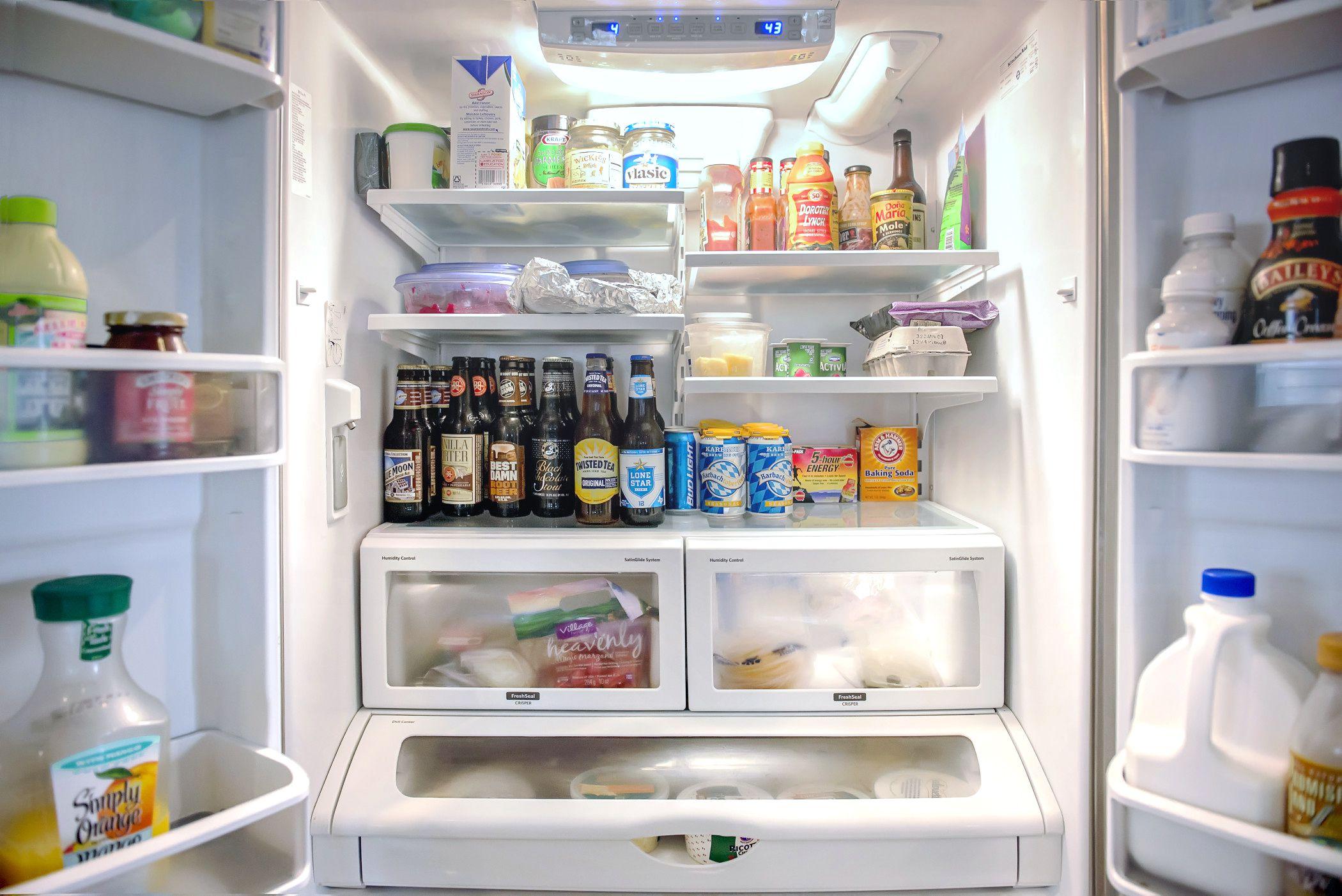 Refrigerator And Freezer Organization Ideas