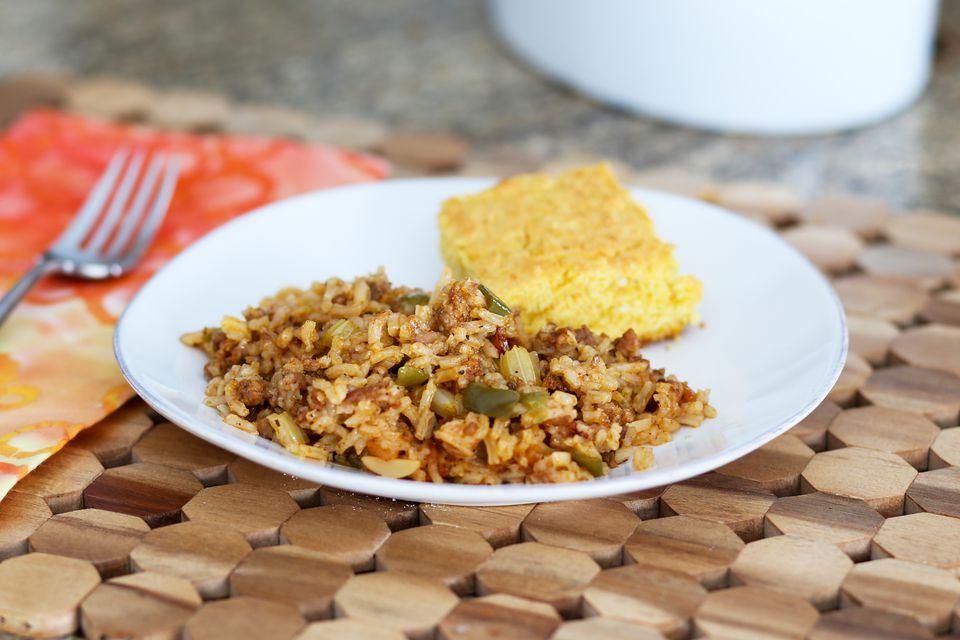 Sausage and Rice Casserole