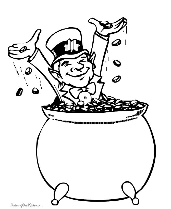 259 Free Printable St Patricks Day Coloring Pages