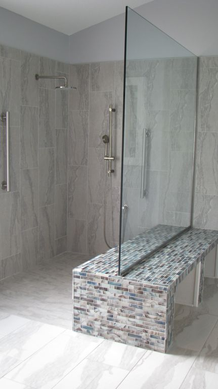 19 gorgeous showers without doors for Master bathroom no door