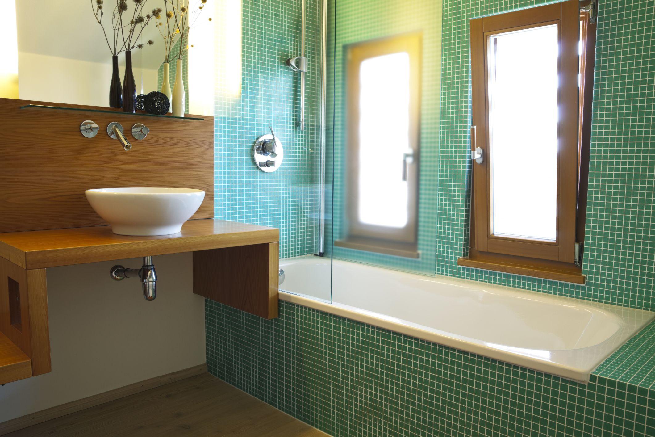 Green tiles for bathroom - Green Tiles For Bathroom 45