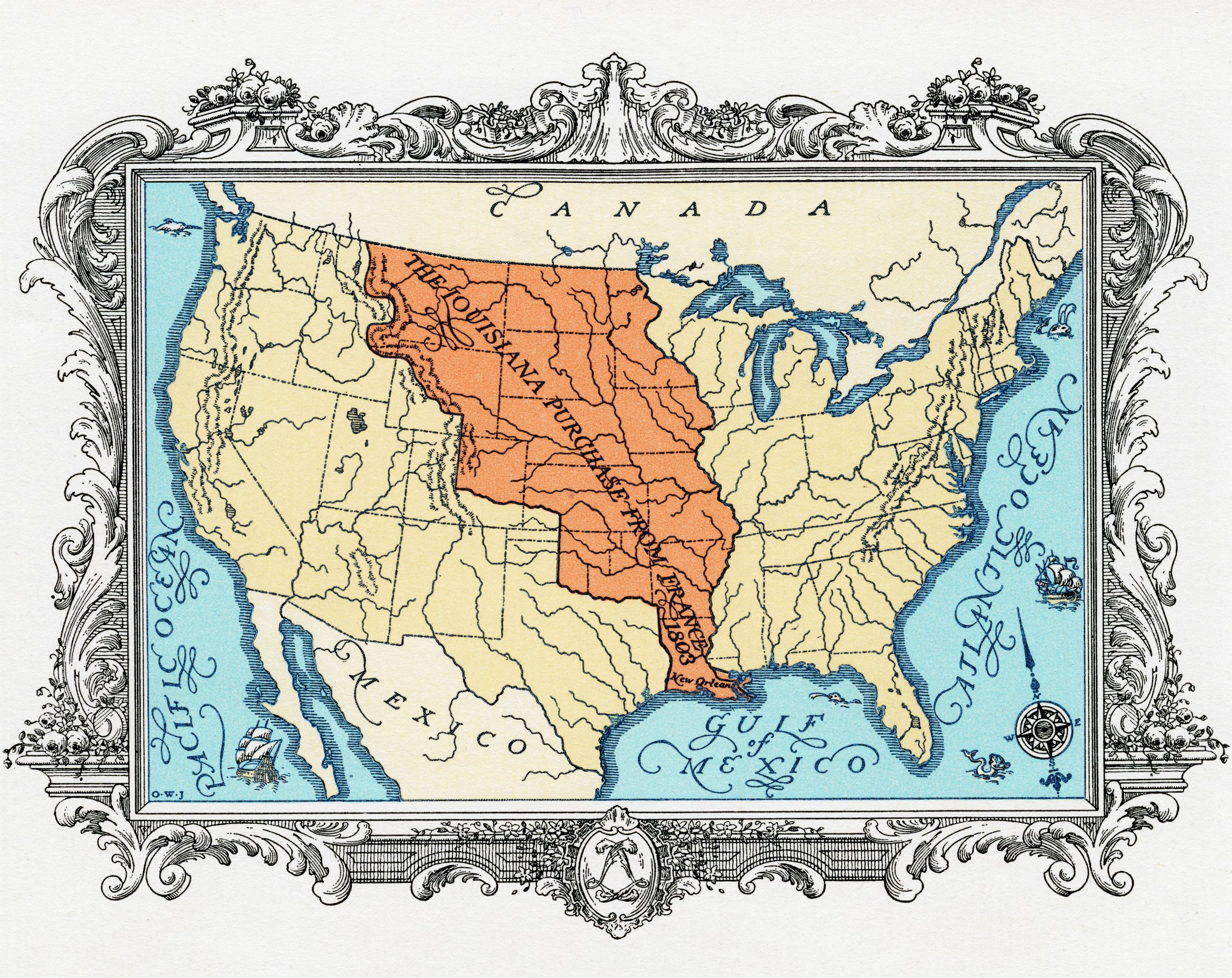 Worksheets Louisiana Purchase Map Worksheet thomas jefferson and the louisiana purchase