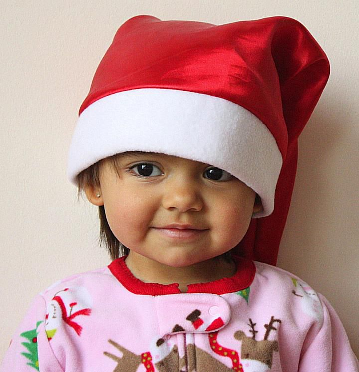 Mi hija Elisa disfrutando navidad